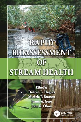 Rapid Bioassessment of Stream Health: 1st Edition (Paperback) book cover