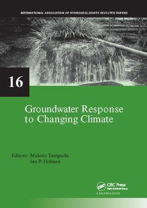 Groundwater Response to Changing Climate: 1st Edition (Paperback) book cover