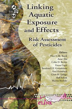 Linking Aquatic Exposure and Effects: Risk Assessment of Pesticides, 1st Edition (Paperback) book cover