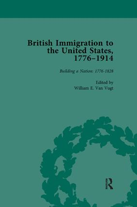 British Immigration to the United States, 1776–1914, Volume 1: 1st Edition (Paperback) book cover
