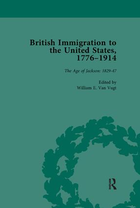 British Immigration to the United States, 1776–1914, Volume 2: 1st Edition (Paperback) book cover