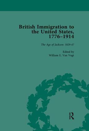 British Immigration to the United States, 1776–1914, Volume 2