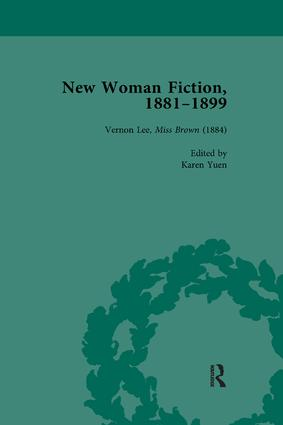 New Woman Fiction, 1881-1899, Part I Vol 2: 1st Edition (Paperback) book cover
