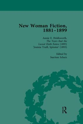 New Woman Fiction, 1881-1899, Part II vol 5: 1st Edition (Paperback) book cover