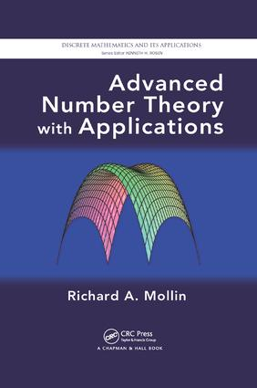 Advanced Number Theory with Applications: 1st Edition (Paperback) book cover
