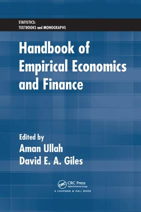 Handbook of Empirical Economics and Finance: 1st Edition (Paperback) book cover