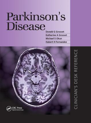 Parkinson's Disease: Clinican's Desk Reference book cover