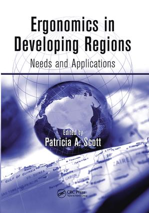 Ergonomics in Developing Regions: Needs and Applications, 1st Edition (Paperback) book cover