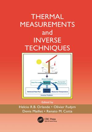 Thermal Measurements and Inverse Techniques: 1st Edition (Paperback) book cover