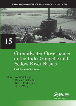 Groundwater Governance in the Indo-Gangetic and Yellow River Basins: Realities and Challenges, 1st Edition (Paperback) book cover