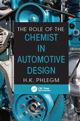 The Role of the Chemist in Automotive Design: 1st Edition (Paperback) book cover