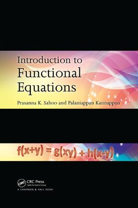 Introduction to Functional Equations: 1st Edition (Paperback) book cover