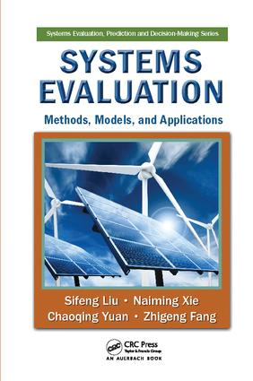 Systems Evaluation: Methods, Models, and Applications book cover