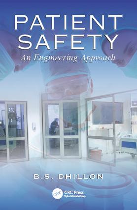 Patient Safety: An Engineering Approach, 1st Edition (Paperback) book cover