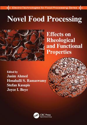 Novel Food Processing: Effects on Rheological and Functional Properties, 1st Edition (Paperback) book cover