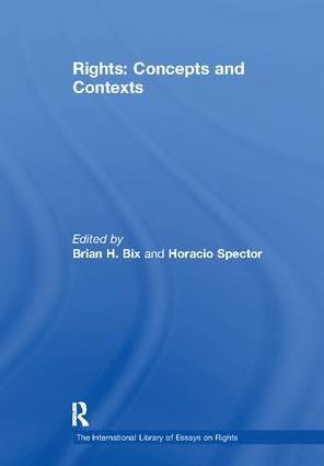 Rights: Concepts and Contexts: 1st Edition (Paperback) book cover