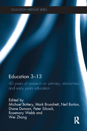 Education 3–13: 40 Years of Research on Primary, Elementary and Early Years Education book cover