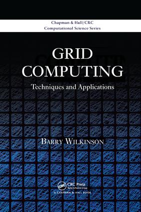 Grid Computing: Techniques and Applications book cover