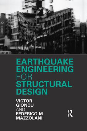 Earthquake Engineering for Structural Design: 1st Edition (Paperback) book cover