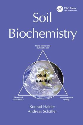 Soil Biochemistry: 1st Edition (Paperback) book cover