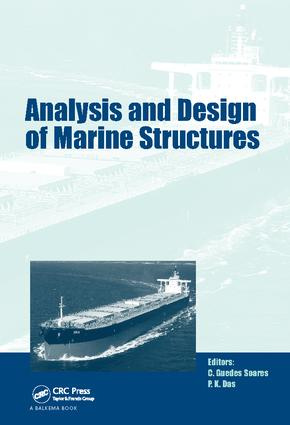 Analysis and Design of Marine Structures: including CD-ROM, 1st Edition (Paperback) book cover