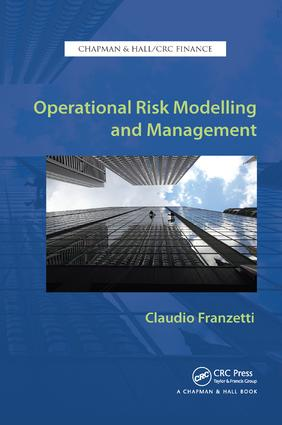 Operational Risk Modelling and Management book cover