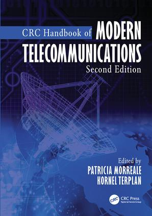 CRC Handbook of Modern Telecommunications: 2nd Edition (Paperback) book cover