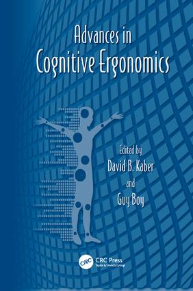Advances in Cognitive Ergonomics: 1st Edition (Paperback) book cover