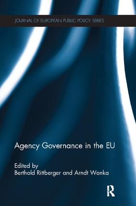 Agency Governance in the EU book cover