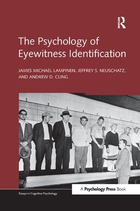 The Psychology of Eyewitness Identification book cover