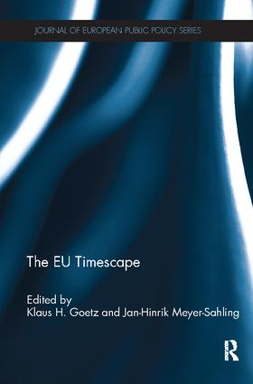 The EU Timescape: 1st Edition (Paperback) book cover