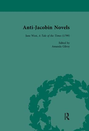 Anti-Jacobin Novels, Part II, Volume 7: 1st Edition (e-Book) book cover