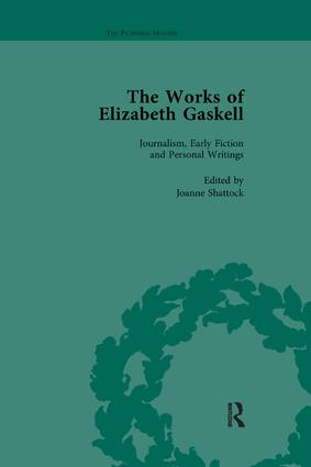 The Works of Elizabeth Gaskell, Part I Vol 1: 1st Edition (Paperback) book cover