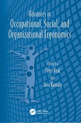 Advances in Occupational, Social, and Organizational Ergonomics book cover