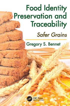 Food Identity Preservation and Traceability: Safer Grains, 1st Edition (Paperback) book cover