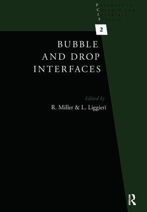 Bubble and Drop Interfaces: 1st Edition (Paperback) book cover