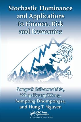 Stochastic Dominance and Applications to Finance, Risk and Economics: 1st Edition (Paperback) book cover