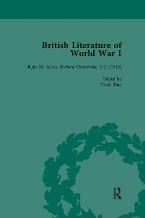 British Literature of World War I, Volume 2