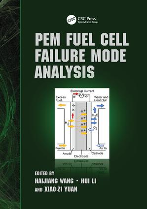 PEM Fuel Cell Failure Mode Analysis: 1st Edition (Paperback) book cover