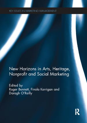 New Horizons in Arts, Heritage, Nonprofit and Social Marketing book cover