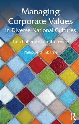 Managing Corporate Values in Diverse National Cultures: The Challenge of Differences book cover