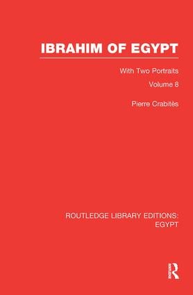 Ibrahim of Egypt (RLE Egypt): 1st Edition (Paperback) book cover