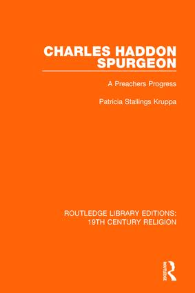 Charles Haddon Spurgeon: A Preachers Progress book cover