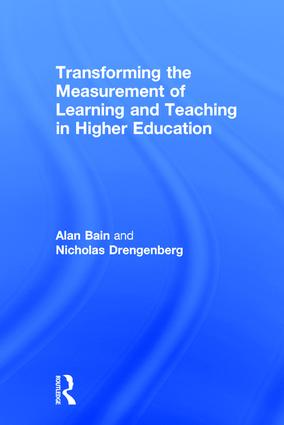 Transforming the Measurement of Learning and Teaching in Higher Education: 1st Edition (Hardback) book cover
