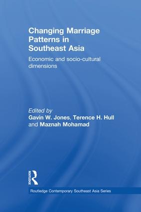 Changing Marriage Patterns in Southeast Asia: Economic and Socio-Cultural Dimensions book cover