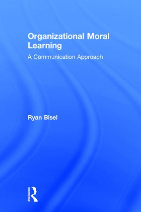 Organizational Moral Learning: A Communication Approach book cover