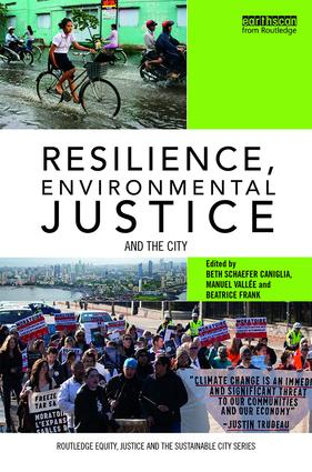 Resilience, Environmental Justice and the City (Hardback) book cover