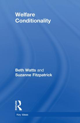 Welfare Conditionality: 1st Edition (Hardback) book cover