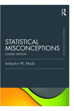 Statistical Misconceptions: Classic Edition book cover