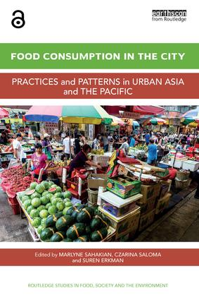 Food Consumption in the City: Practices and patterns in urban Asia and the Pacific (Hardback) book cover